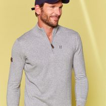 Harcour – Flash Pullover Homme Must Have Gris